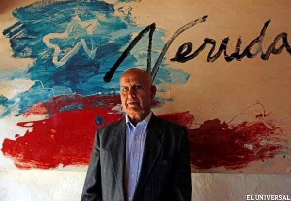 Mario Araya Osorio, ex-guardacostas e motorista do poeta chileno Pablo Neruda