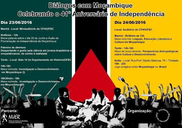 Diálogos com Moçambique: Celebrando o 41° Aniversário de Independência