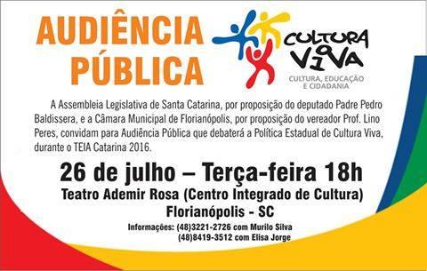 Audiencia Publica Cultura
