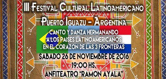III Festival Latino-americano em Puerto Iguazú