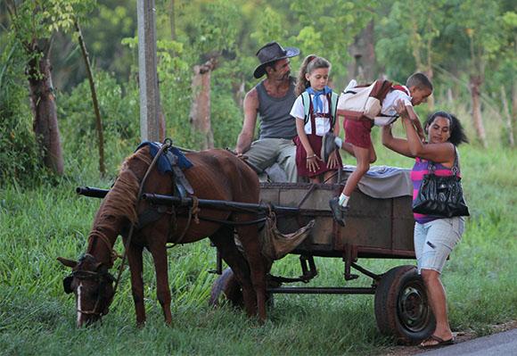 O ensino chega a todos os cantos da ilha. Foto: Ismael Francisco/ Cubadebate
