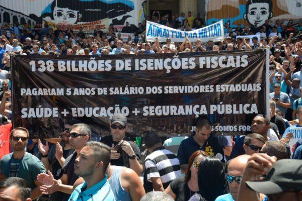 Isenção fiscal bilionária concedida a empresas e fator-chave no rombo do Rio