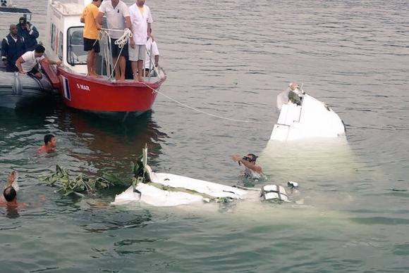 Justiça Federal determinou o sigilo das investigações sobre a queda do King Air no mar na região de Paraty