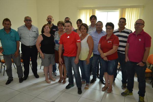 Intersindical, que reúne as entidades sindicais de trabalhadores de Jaraguá do Sul e Região, realizou primeira reunião do ano, no Sintiquip, dia 9 de fevereiro).