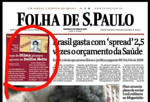 Fake News. Folha publica reportagem sobre sites de notícias falsas e por modéstia (?) esquece de se incluir no grupo
