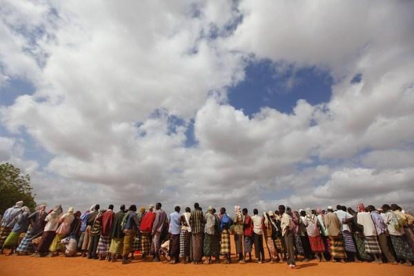 Mais de 260 mil somalis vivem no campo de refugiados de Dadaab, cujo fechamento foi anulado pela Suprema Corte do Quênia. Foto: EFE