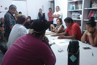 MPF/SC se reúne com indígenas e coordenador do DSEI Interior Sul, em São José