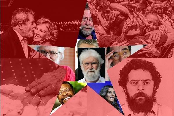 Artistas e intelectuais lançam manifesto em apoio à candidatura do ex-presidente Lula
