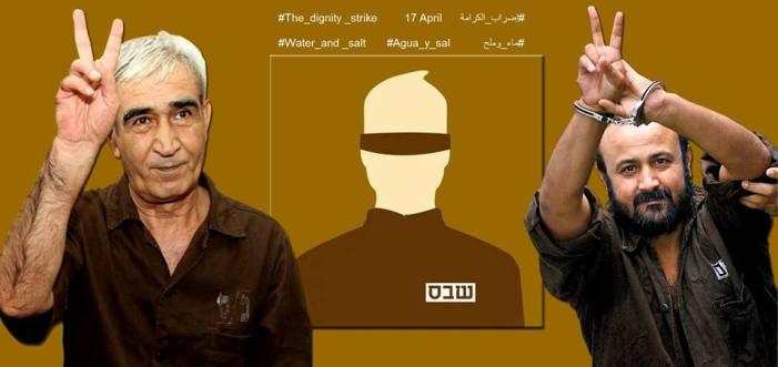 Presas e presos palestinos em prisões israelenses começam greve de fome