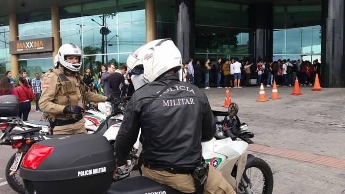 Polícia está no local