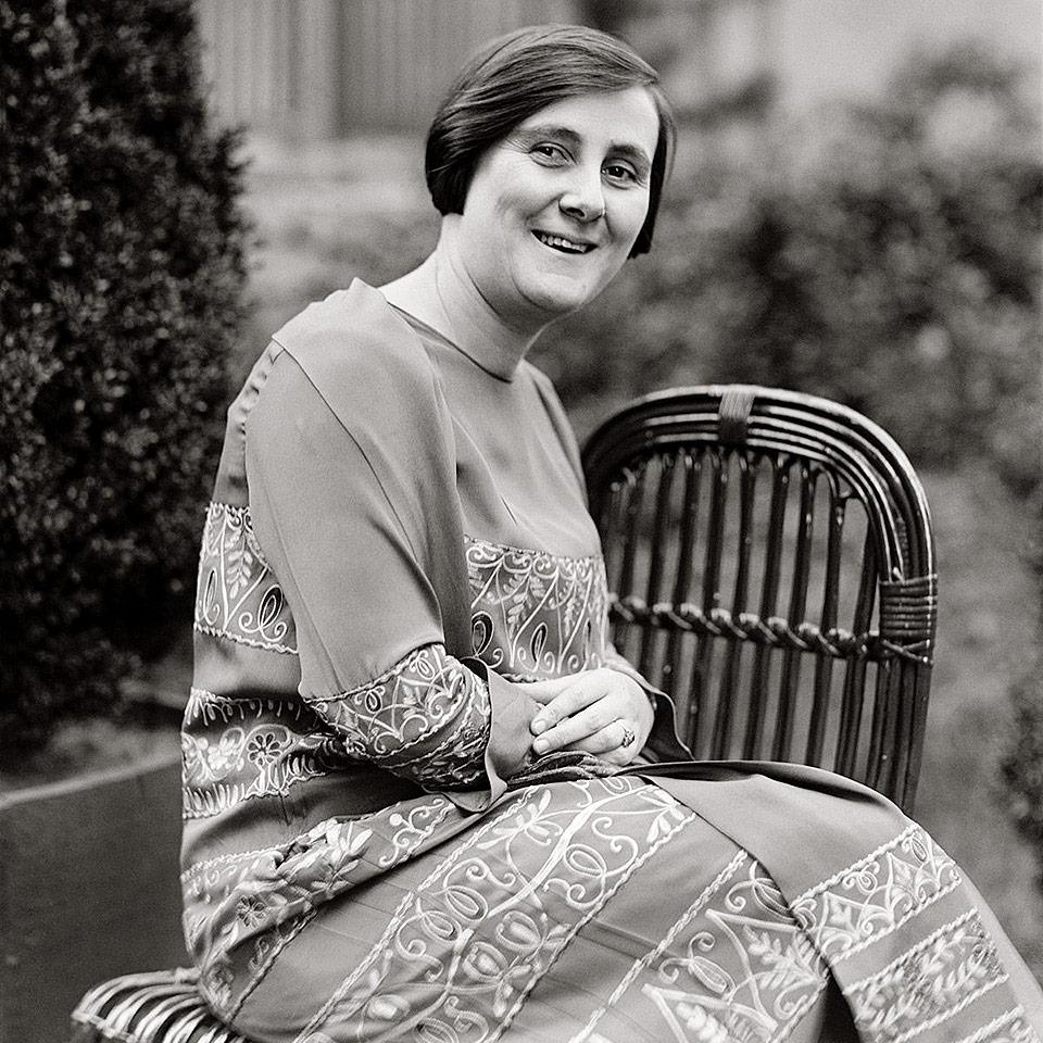 A bióloga Bertha Lutz, pioneira do feminismo no Brasil.