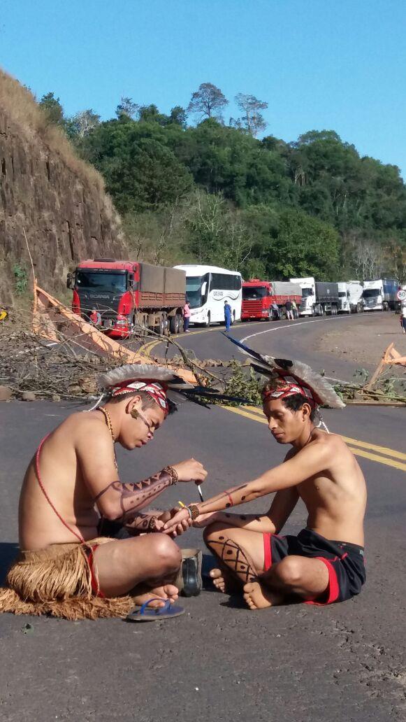 Indígenas do Rio Grande do Sul fazem mobilização hoje