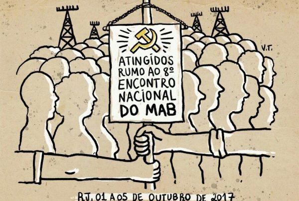 MAB realizará 8º encontro nacional no Rio de Janeiro em outubro