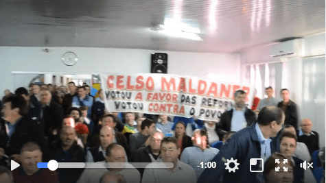 São Miguel do Oeste: João Rodrigues não falou mais alto que o Povo
