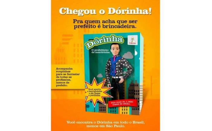 """Meme sobre o boneco """"Dorinha"""" bomba na internet"""