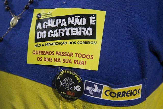 Trabalhadores dos Correios seguem em Greve Nacional com mais de 30 sindicatos em luta
