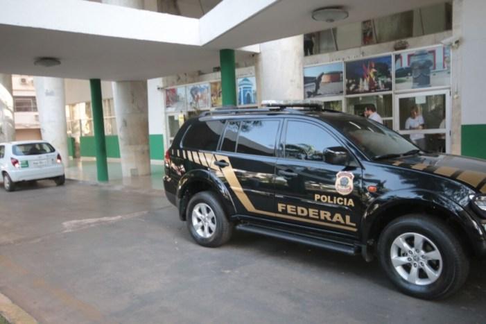 Polícia Federal cumpre mandados de busca e apreensão na Prefeitura de Cuiabá