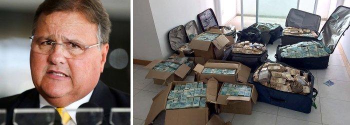 Polícia Federal encontra malas de dinheiro em 'Bunker' ligado a Geddel