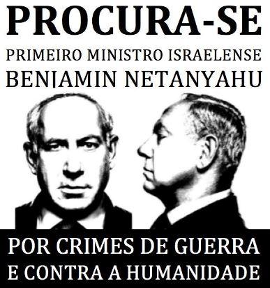 São Paulo: Fora Netanyahu da América Latina!
