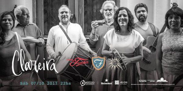 Lançamento do disco Clareira na Casa de Francisca