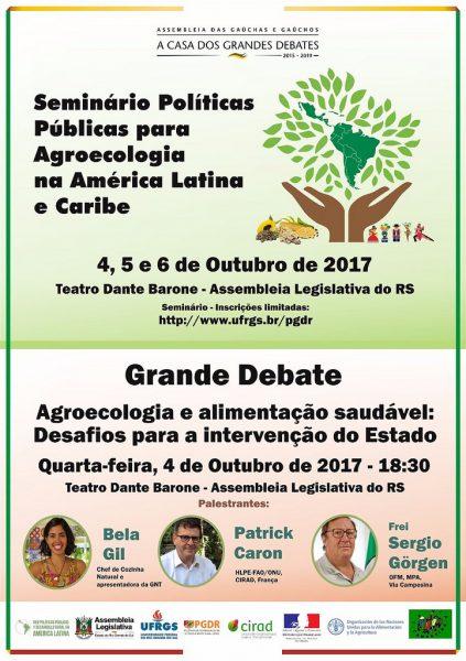 Seminário reúne especialistas de 11 países para discutir políticas públicas para agroecologia