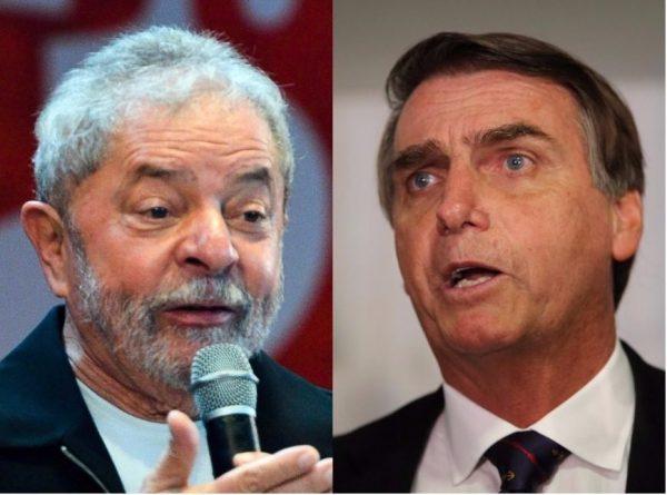 Ibope: Lula e Bolsonaro no segundo turno