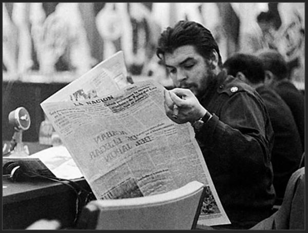 A paixão do Che Guevara pela literatura