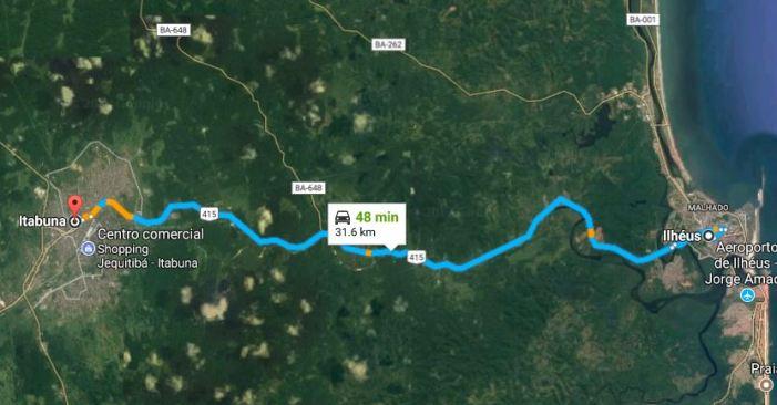 Rodovia Ilhéus-Itabuna: A quem servem as ruínas?