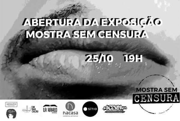 Abertura da Exposição Mostra sem Censura 2017