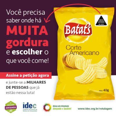 Nova proposta de rotulagem de alimentos será apresentada em Porto Alegre