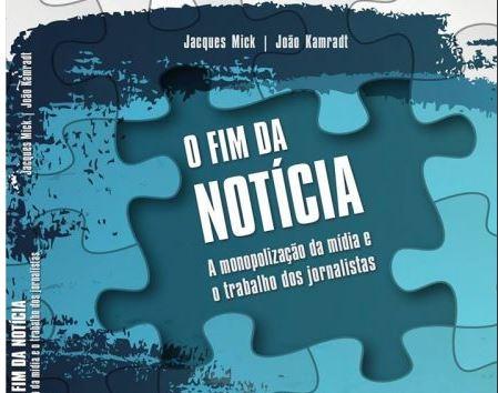 Lançamento do livro O Fim da Notícia e festinha com discotecagem de Jean Mafra