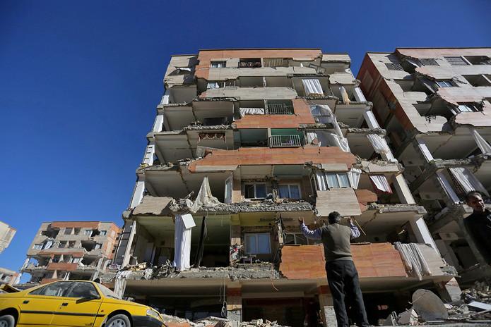Forte terremoto no Irã e Iraque