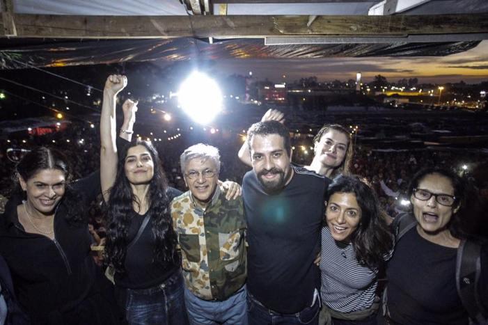 Remarcado o show de Caetano em apoio ao MTST e a ocupação Povo Sem Medo