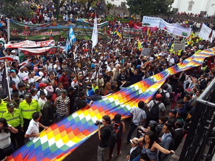 Equador: a luta contra as petroleiras e a mineração