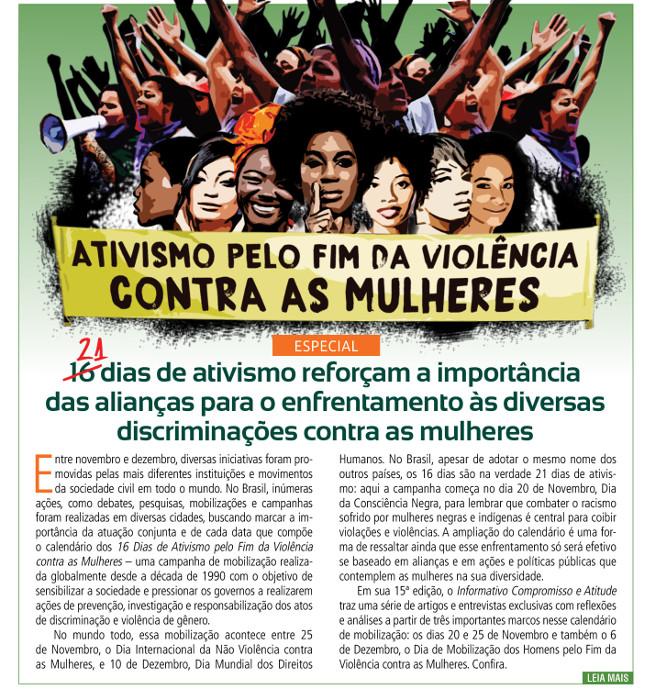 A importância das alianças para o enfrentamento à violência contra as mulheres