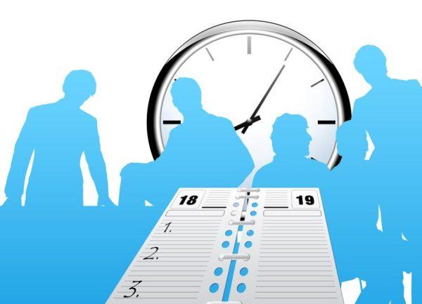 trabalhar em casa - organização do tempo