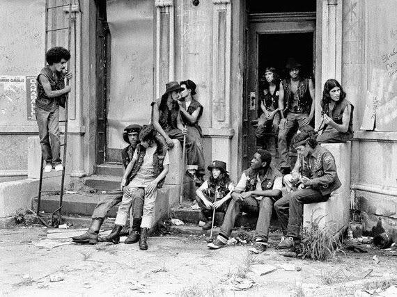 Banda callajera South Bronx 1975