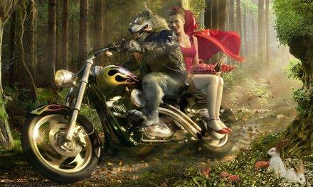 ¡Vaya con el lobo de Caperucita!