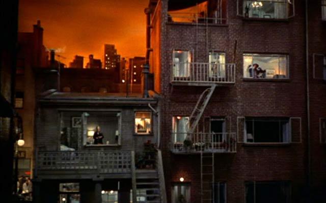 La vida en ventanas, terrazas y balcones