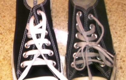 Hasta donde me han traído mis zapatos rotos.