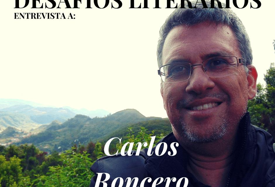 Entrevista a CARLOS RONCERO