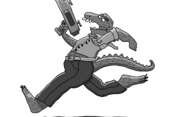 El inspector Tontinus y la nave alienígena. Capítulo 5