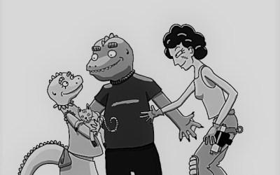 El inspector Tontinus y la nave alienígena. Capítulo 7