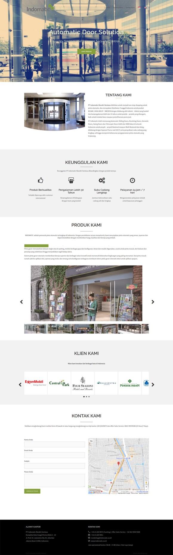 Indomatic - one stop shopping untuk pintu otomatis