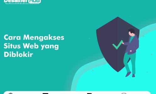 Cara mengakses situs web yang diblokir