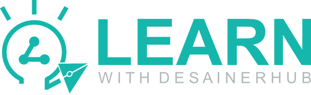 logo learn with desianerhub