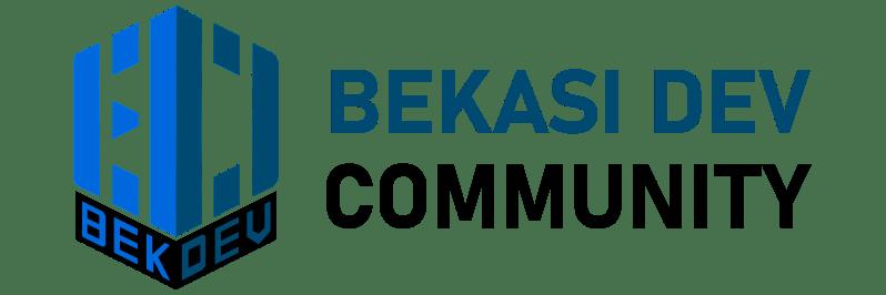 Logo Bekasi Dev Community by DesainerHub