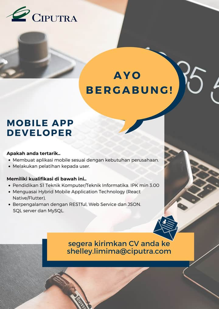 Mobile App Developer Ciputra