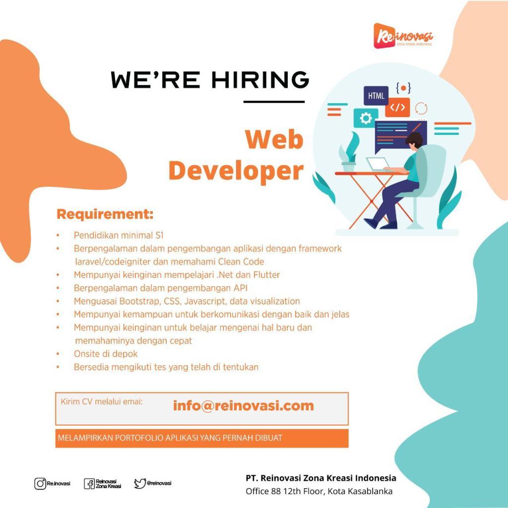 Reinovasi web developer