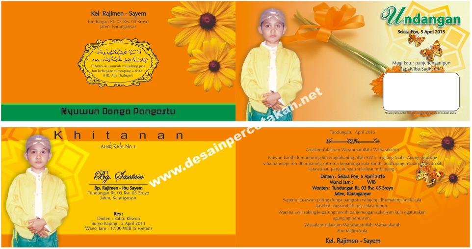 Download Format Undangan Pernikahan Dan Khitanan Fertodonneidaho